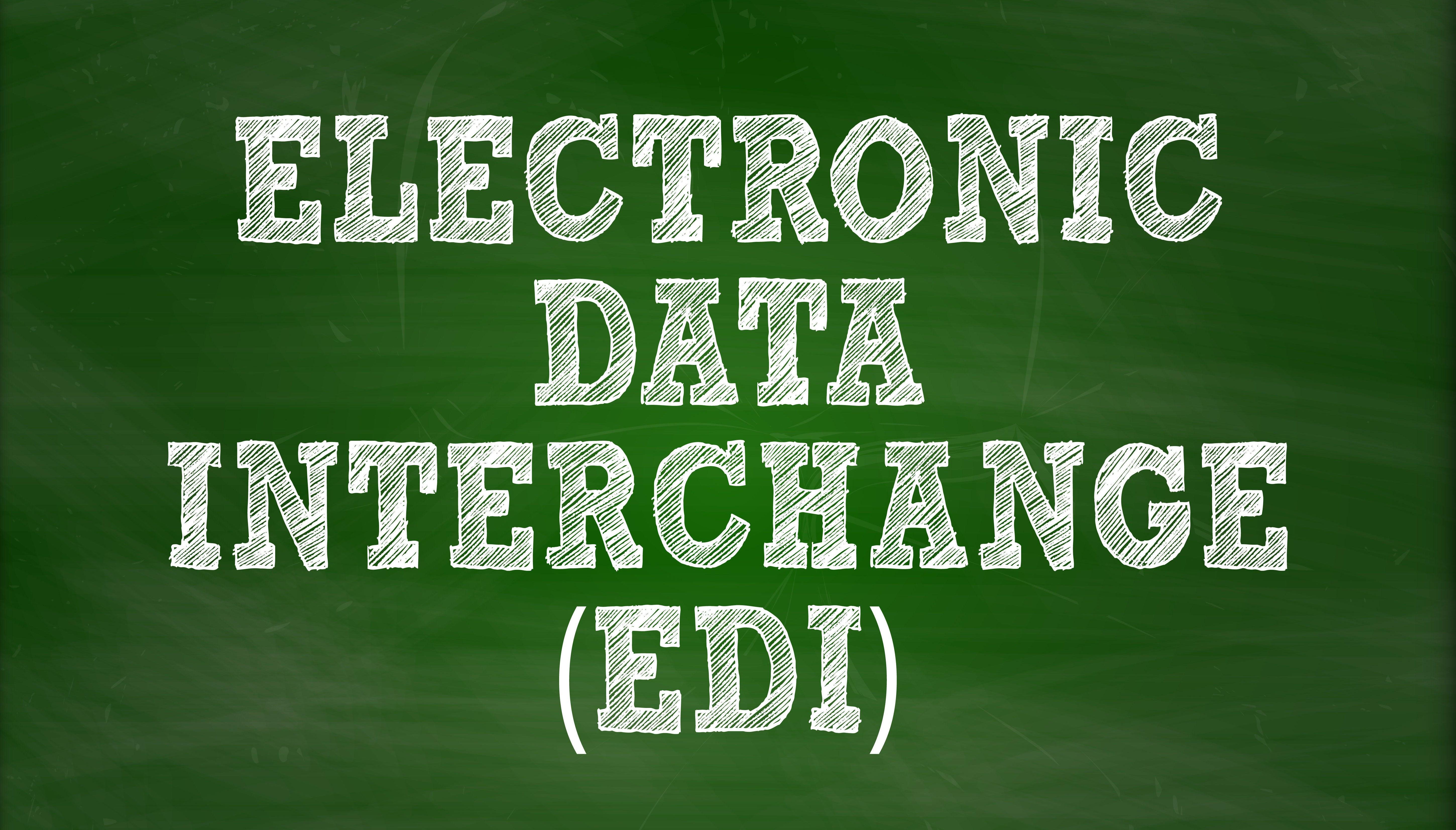 "Chalkboard ""EDI"""