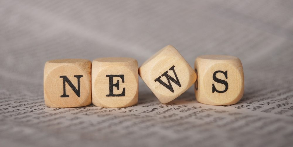 """NEWS"" dice on newspapaer"