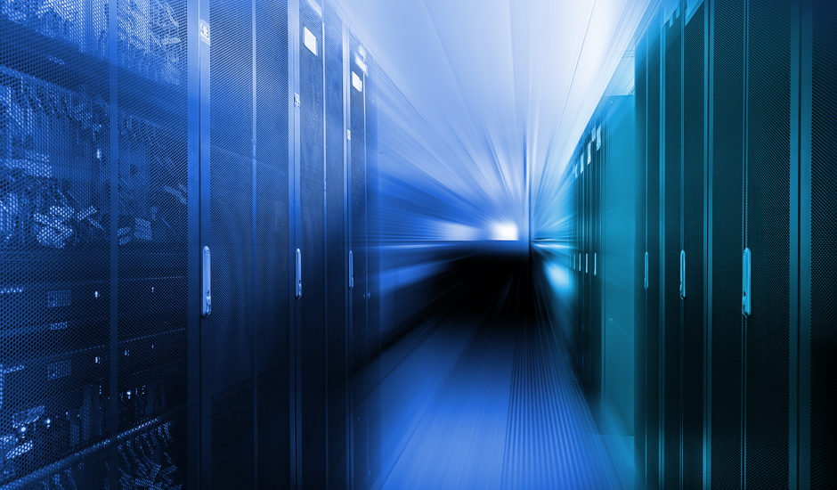 Datacenter servers disappearing in dark space