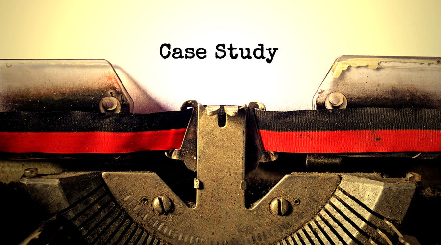 """Case Study"" on typewriter"