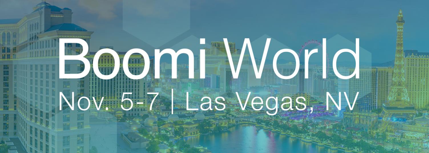 Boomi World 2018 - Las Vegas banner