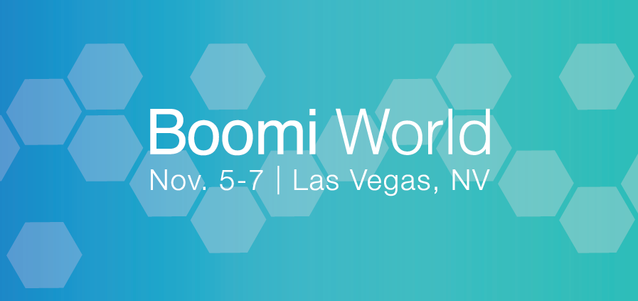 Boomi World 2018 logo banner