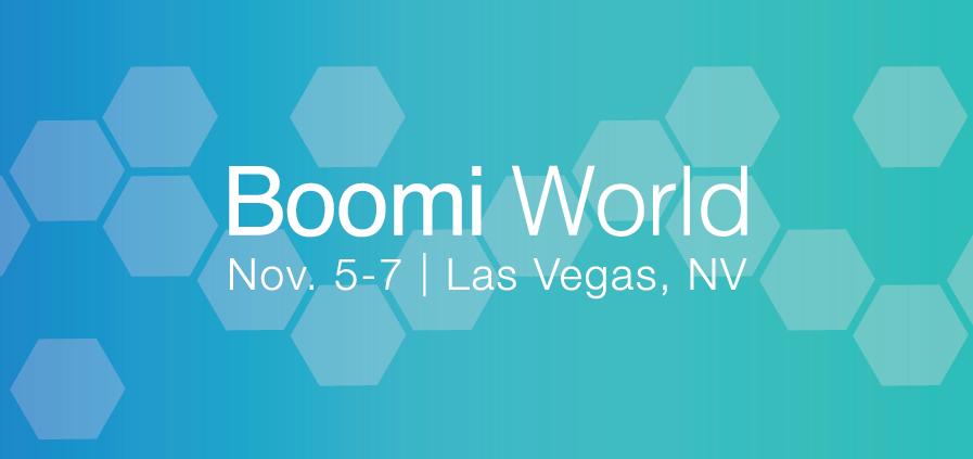 Boomi World 2018 logo banner