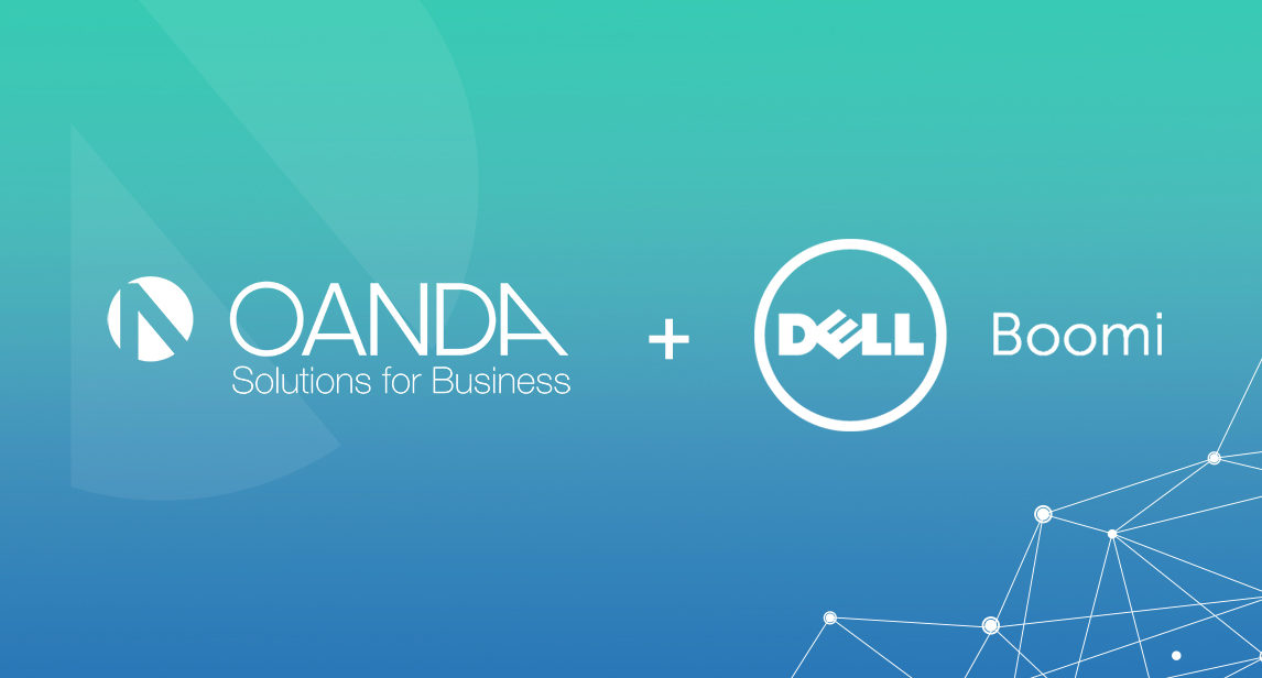 OANDA and Dell Boomi logos