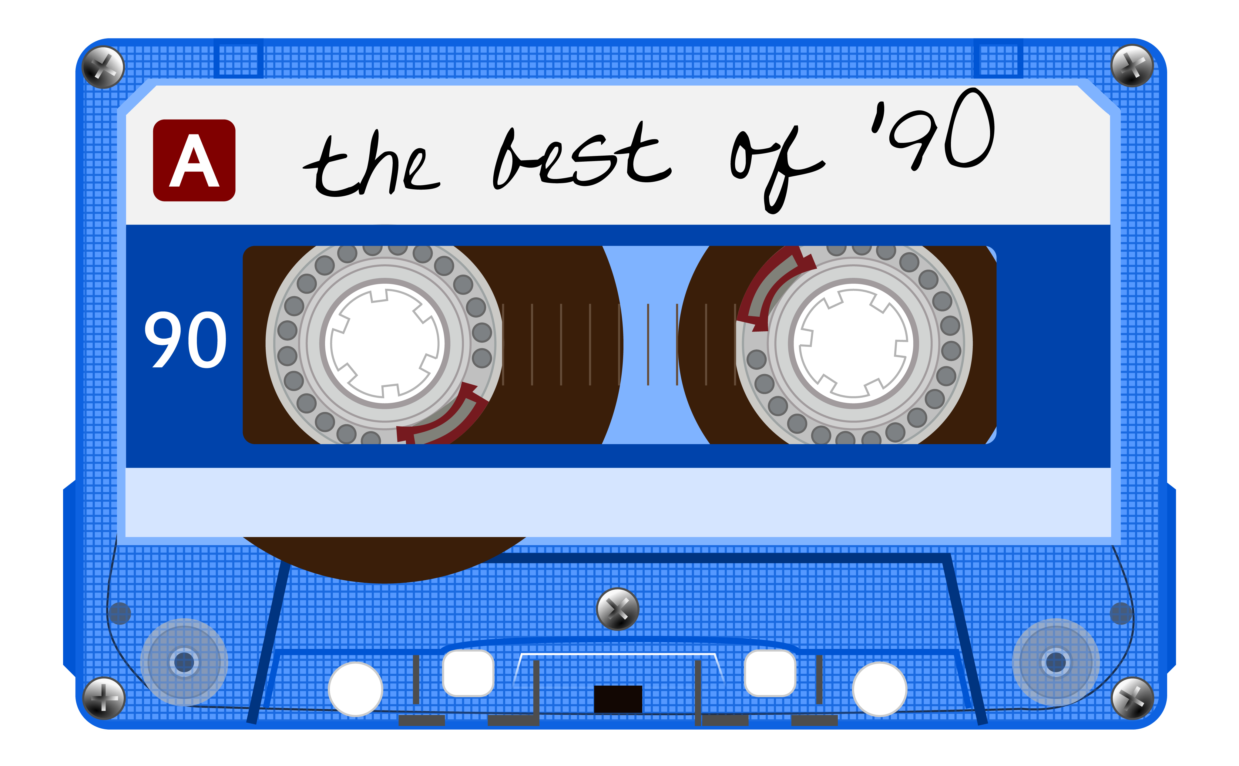 "Music cassette, ""The Best of the 90s"""
