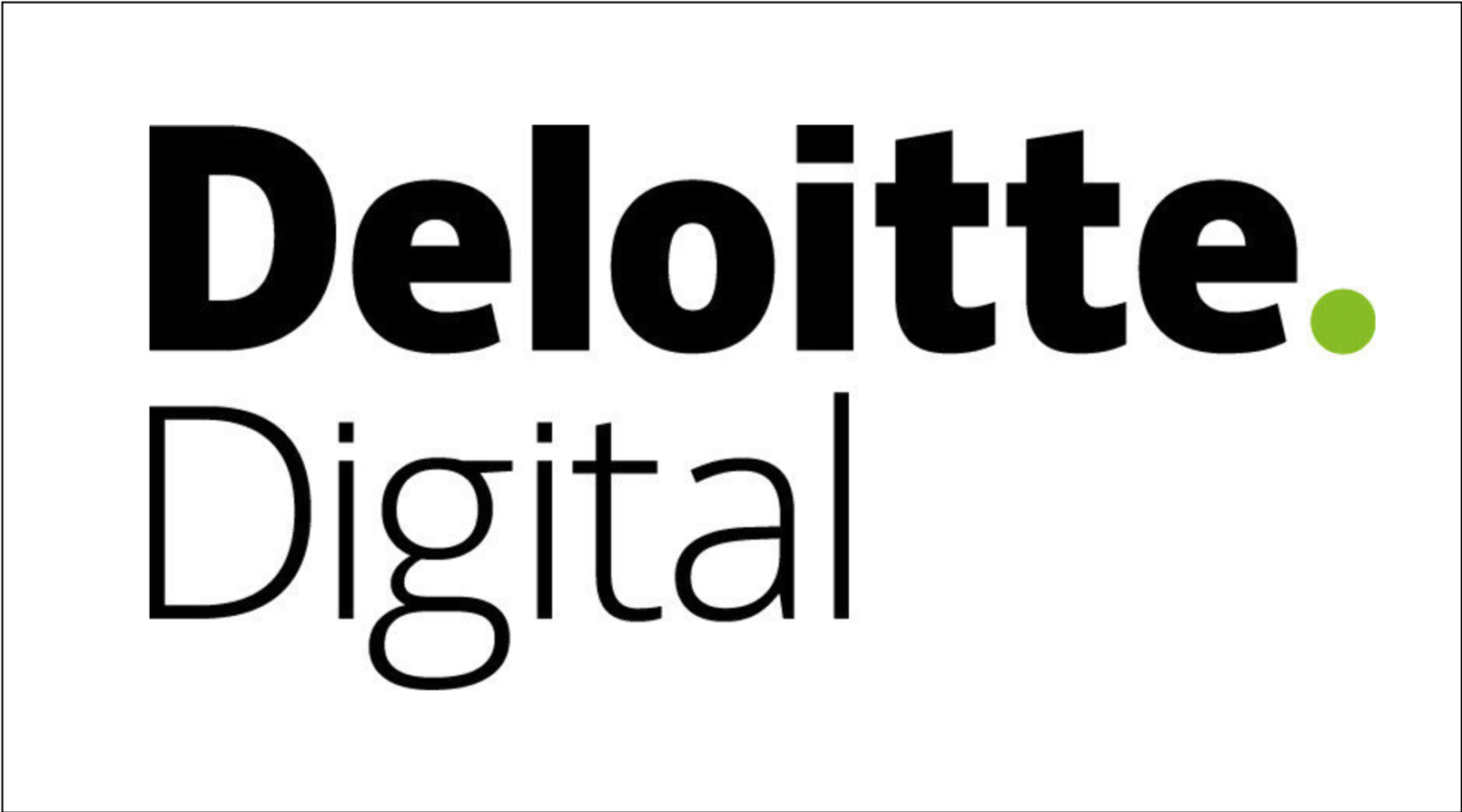 Logo for Deloitte Digital