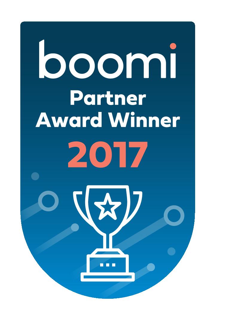 Boomi Partner Award Winner 2017