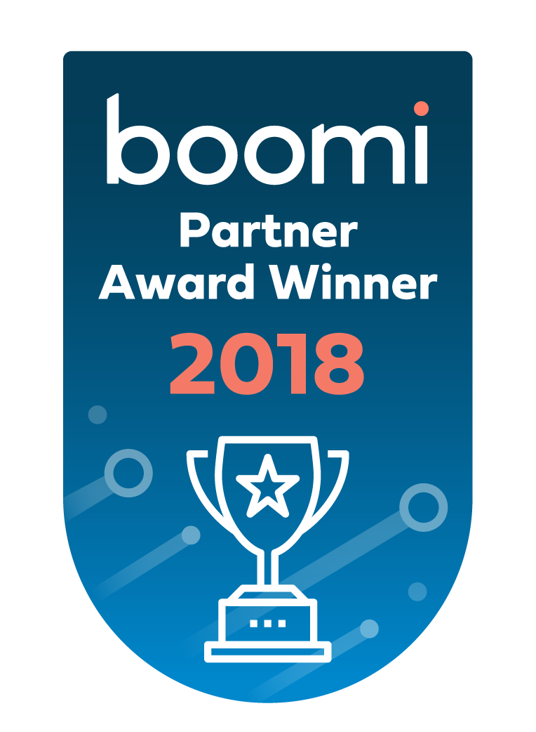 Boomi Partner Award Winner 2018
