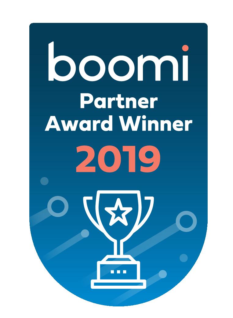 Boomi Partner Award Winner 2019