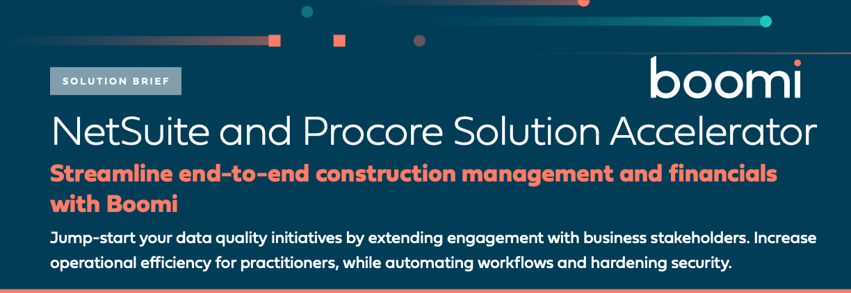 NetSuite Procore Solution Accelerator